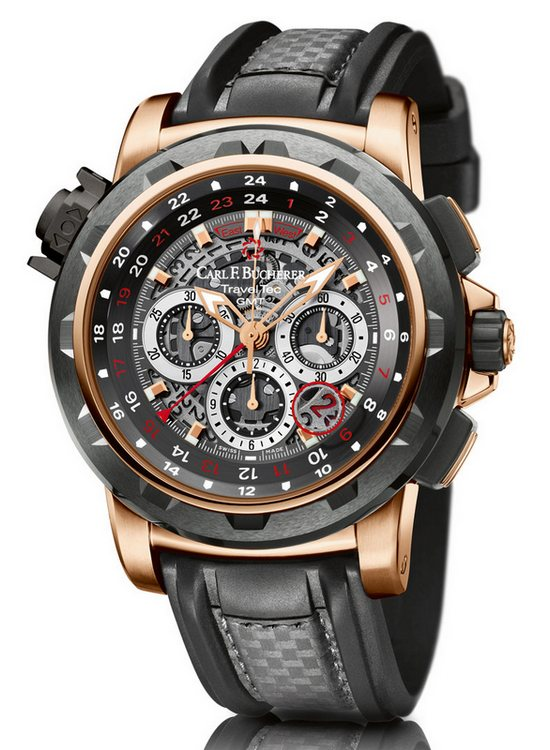 Carl F Bucherer Patravi TravelTec FourX Watch