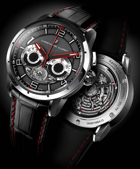 Christophe Claret Kantharos Chronograph Watch