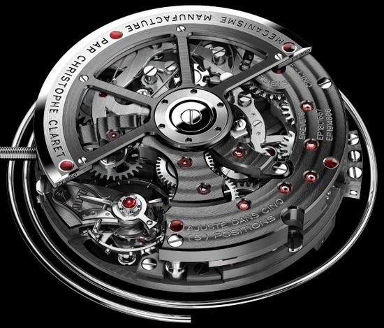 Christophe Claret Kantharos Mechanism