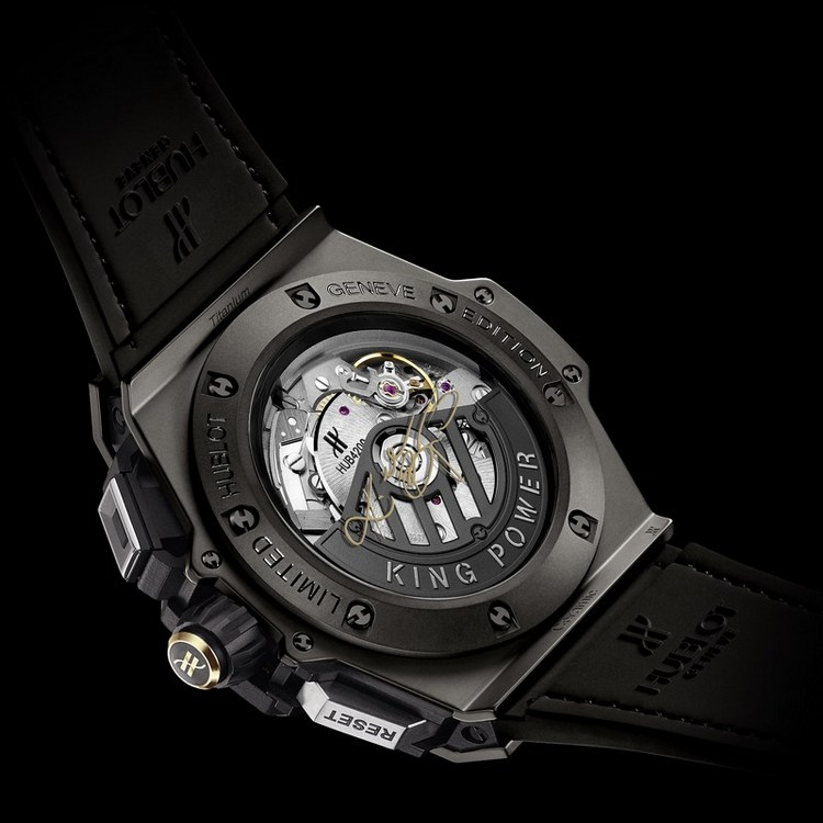 Hublot King Power Black Mamba Watch Caseback