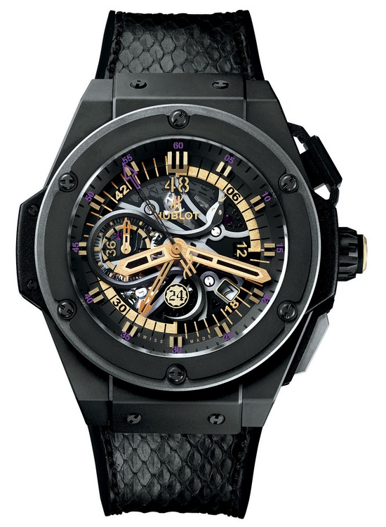 Hublot King Power Black Mamba Watch Front
