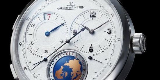 Jaeger-LeCoultre Duomètre Unique Travel Time Watch Dial Detail