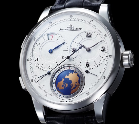 Jaeger-LeCoultre Duomètre Unique Travel Time Watch Dial