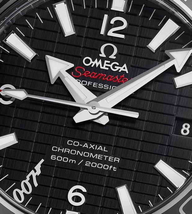 Omega Seamaster Planet Ocean 600m Skyfall Watch Dial