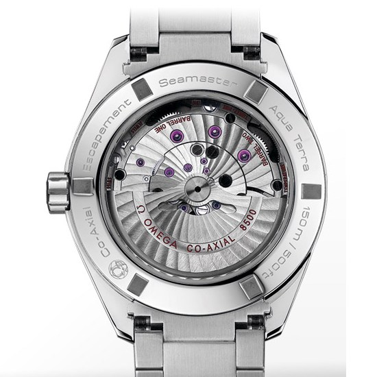 Omega Co-Axial Calibre 8500 Watch Caseback