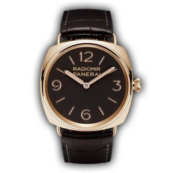 Panerai Radiomir 3 Days Oro Rosa 47mm PAM00379 Watch