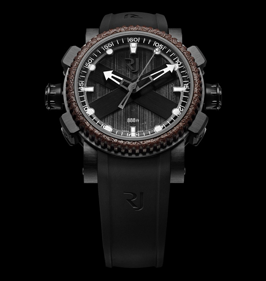 Romain Jerome Octopus Diving Watch Black