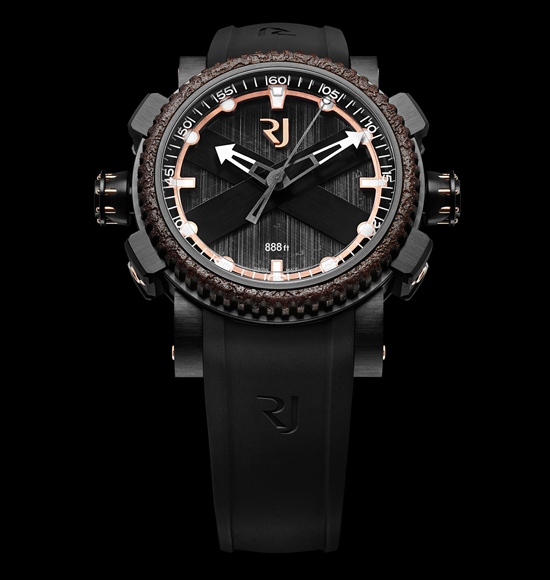 Romain Jerome Octopus Diving Watch Red