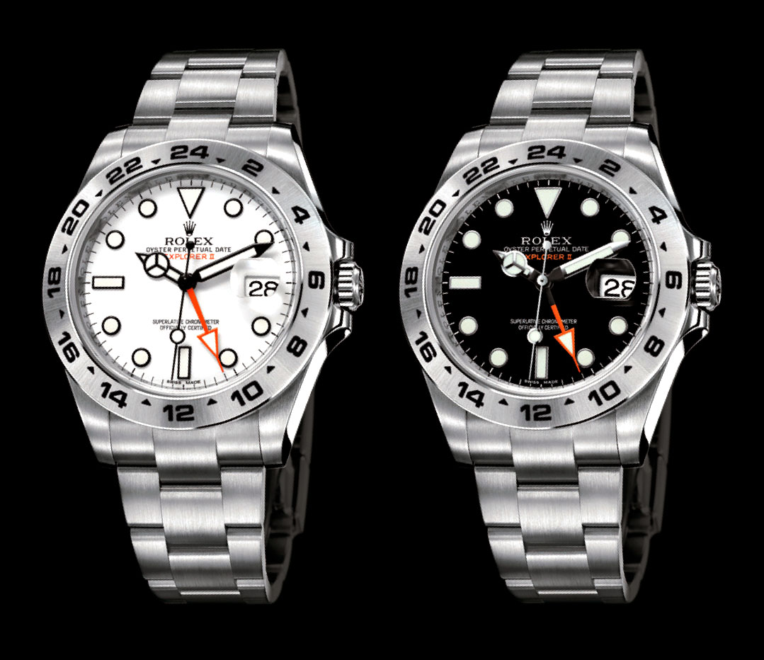 Rolex Oyster Perpetual Explorer II Watches