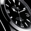 Rolex Oyster Perpetual Explorer 214270 Watch Dial Detail
