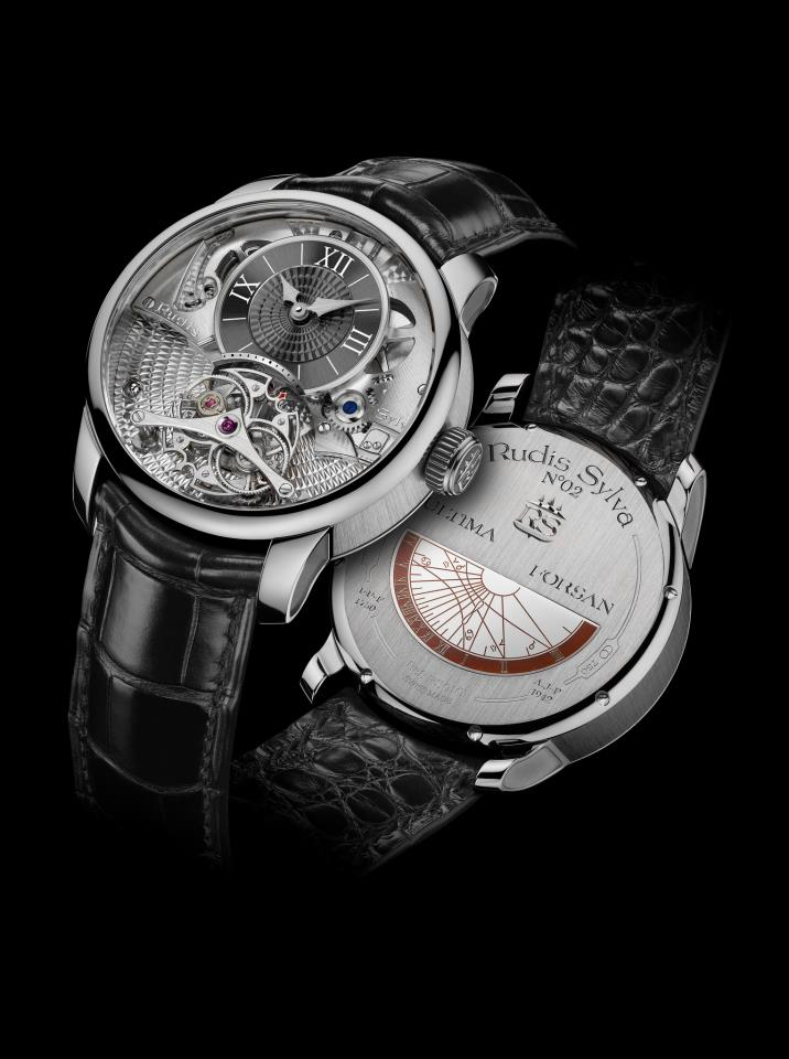 Rudis Sylva RS12 Grand Art Horloger Watch Back