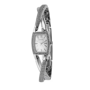 DKNY-ladies-stainless-steel-stone-set-bangle-watch