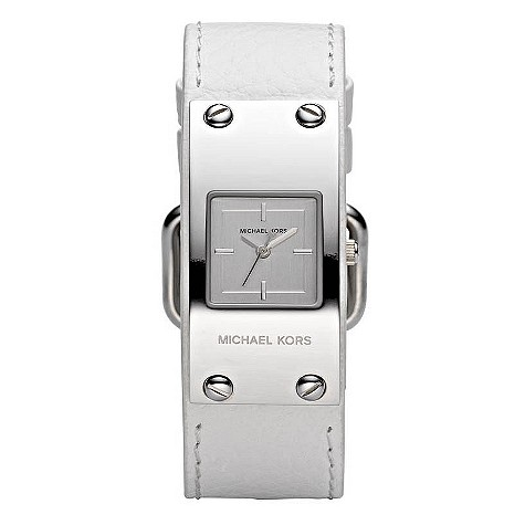 michael-kors-ladies-white-strap-watch