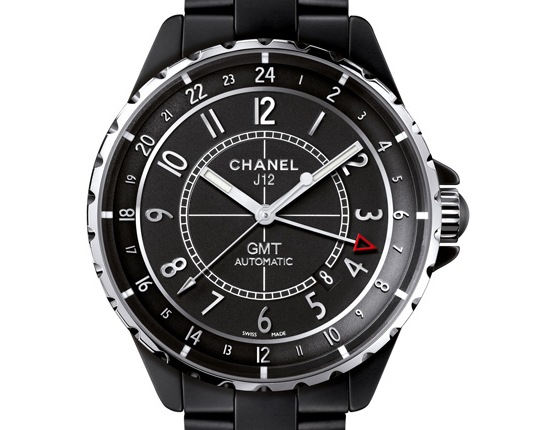 Chanel J12 Matte Black GMT Watch
