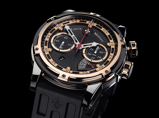 Louis Moinet Jules Verne Instrument III Chronograph Watch