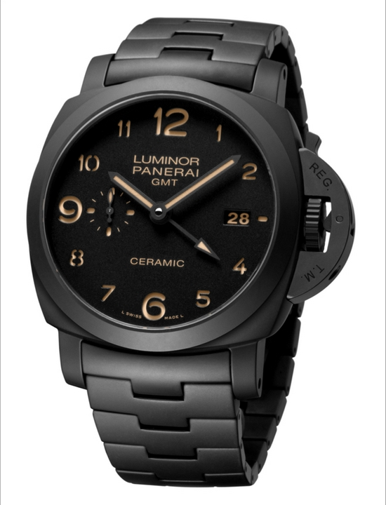 Panerai Luminor 1950 3 Days GMT Automatic Ceramica - 44 mm Watch