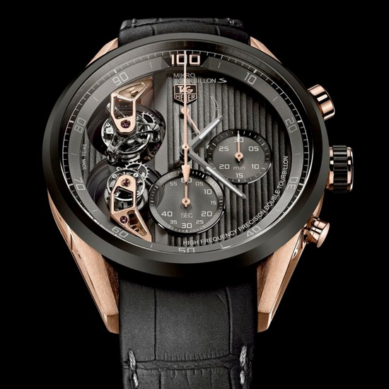 Tag Heuer MikrotourbillonS Chronograph Watch