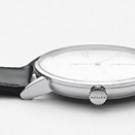 Nomos Glashütte Lambda White Gold Watch Profile