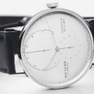Nomos Glashütte Lambda White Gold Watch