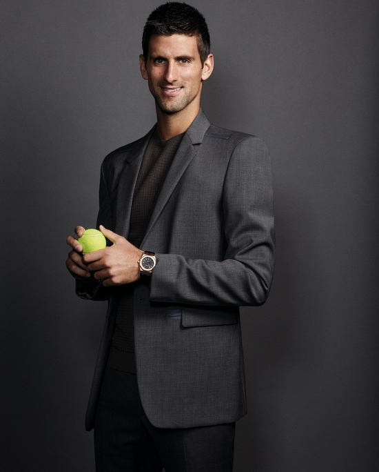 Novak Djokovic Ambassador of Audemars Piguet Watches