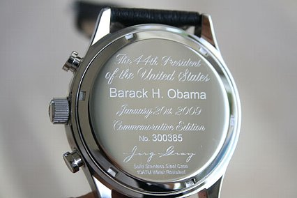 Obama Jorg Gray Watch back