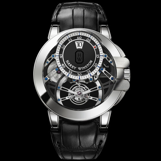 Harry Winston Ocean Tourbillon Jumping Hours Watch