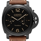 Panerai Luminor 1950 Tourbillon GMT Ceramica 48mm Watch PAM 396