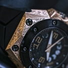 Linde Werdelin Oktopus Moon Tattoo Watch Detail
