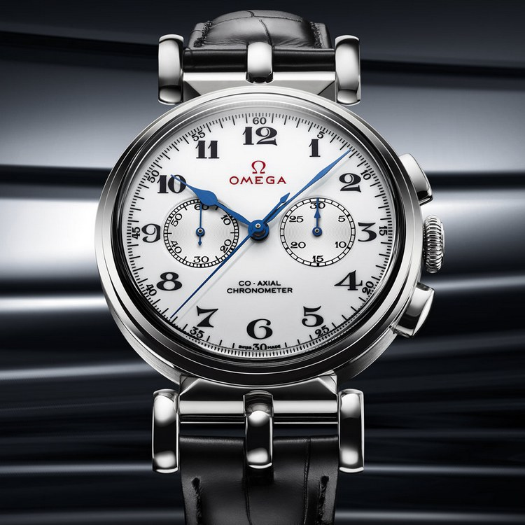 Omega Olympic Official Timekeeper Limited Edition White Gold Watch