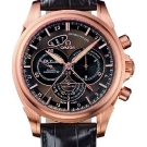 Omega De Ville Co-Axial Chronoscope Watch Red Gold