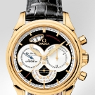 Omega De Ville Co-Axial Chronoscope Watch Yellow Gold