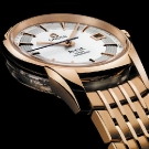 Omega De Ville Hour Vision Watch Red Gold