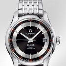 Omega De Ville Hour Vision Watch Steel Black Dial
