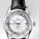 Omega De Ville Hour Vision Watch Steel Silver Dial