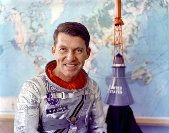 Astronaut Wally Schirra