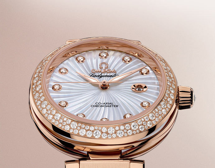 Omega De Ville Ladymatic Header