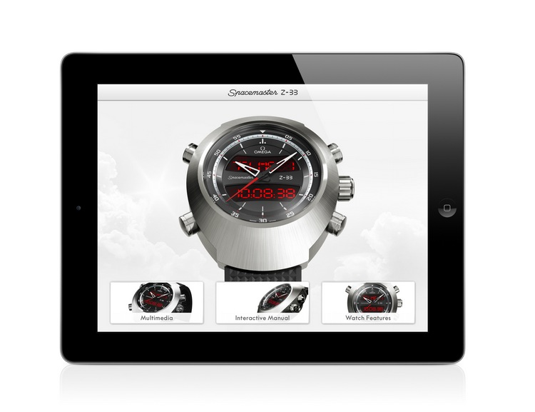 Omega Spacemaster Z-33 Watch iPad App