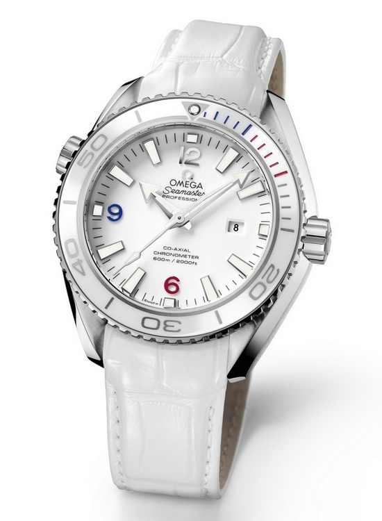 "Omega Seamaster Planet Ocean 37.5 mm ""Sochi 2014"" Specialities Watch"