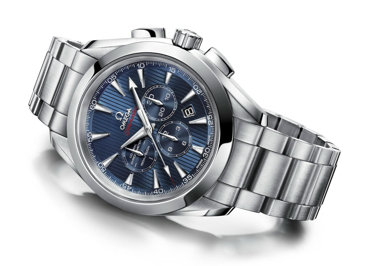 Omega Seamaster Aqua Terra 44 London Chronograph Watch ...