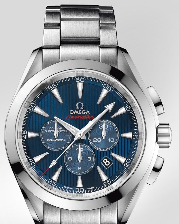 Omega Seamaster Aqua Terra 44 London Chronograph front