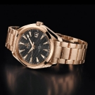 Omega Seamaster Aqua Terra Chronometer Watch Red Gold
