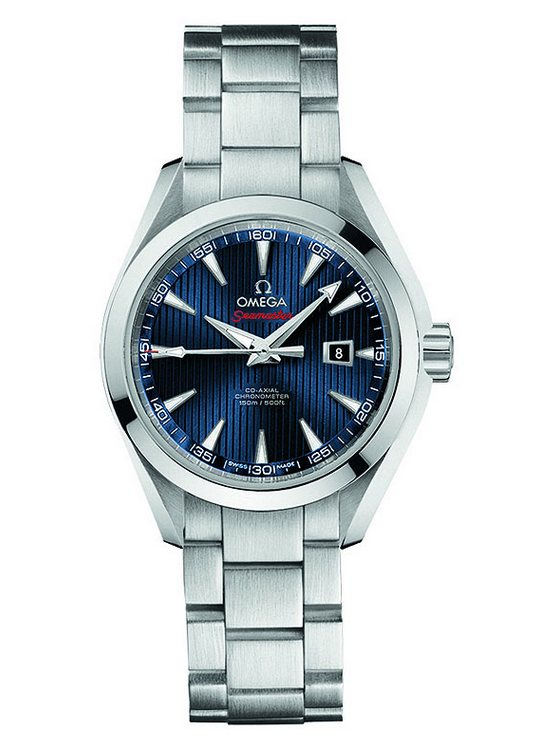 "Omega Seamaster Aqua Terra Co-Axial ""London 2012"" 34mm Ladies' Watch Stainless Steel"