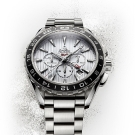 Omega Seamaster Aqua Terra GMT Chronograph Watch Steel
