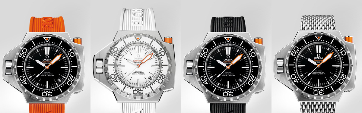 Omega Seamaster Ploprof 1200m Watches