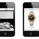 Omega iPhone App Seamaster Planet Ocean Watch