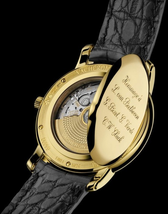 Vacheron Consantin Chagall et l'Opera de Paris Tribute to 4 Composers Watch Caseback Movement