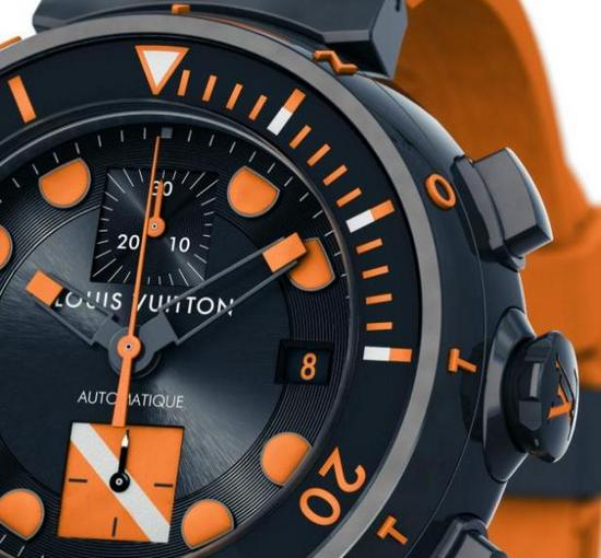 Louis Vuitton Tambour Dive Chronograph for Only Watch 2011