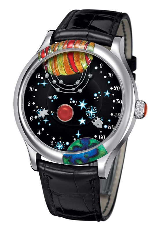 Van Cleef & Arpels From the Eart to the Moon Watch