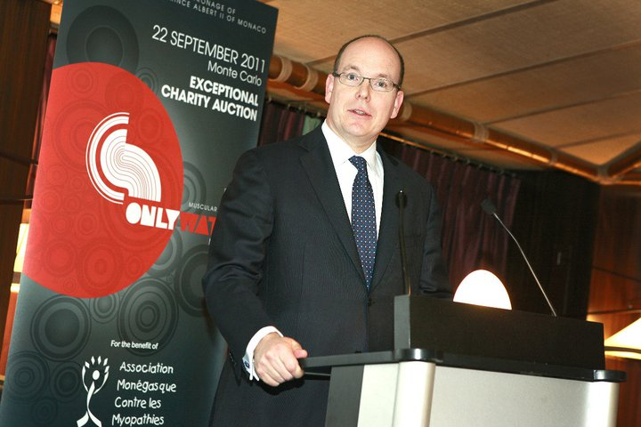 Albert II Prince of Monaco at Only Watch 2011