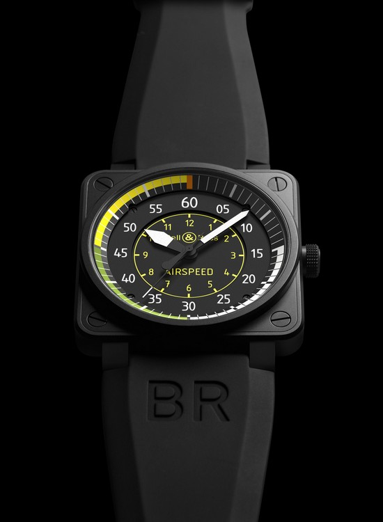 Bell & Ross BR01-92 Airspeed Watch